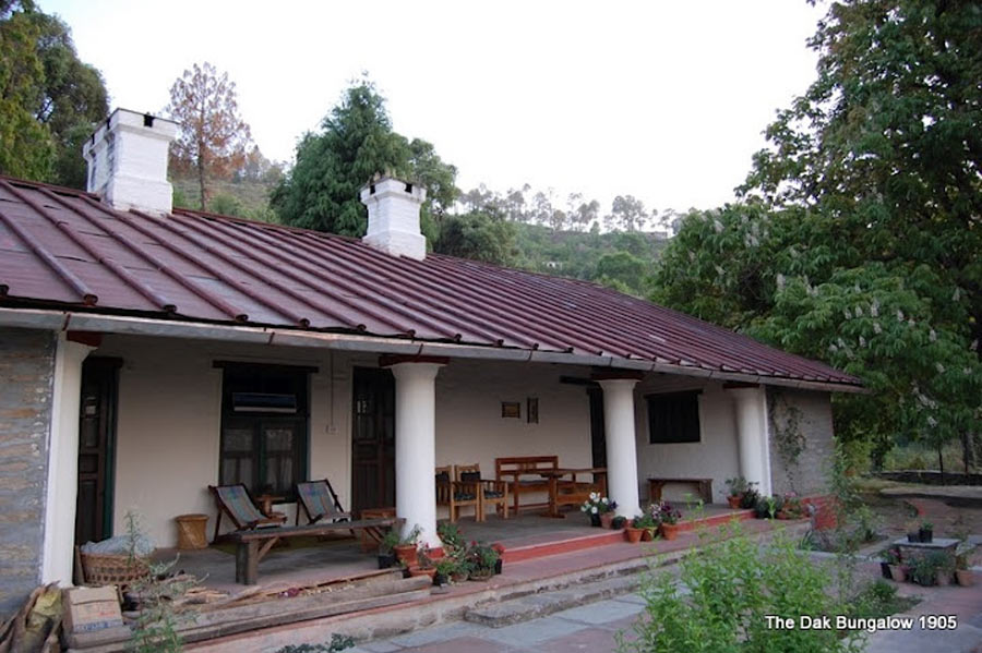 The Dak Bungalow At Peora Homestay Near Almora In Uttarakhand India