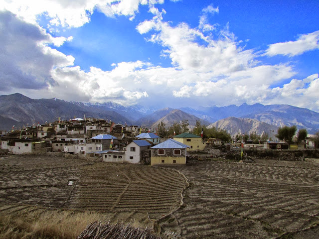 The charming village of Nako. Photo by Umesh Nanawarre