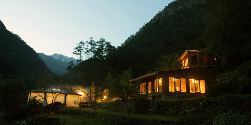 Charming family-run homestay in the Garhwal Himalayas of Uttarakhand