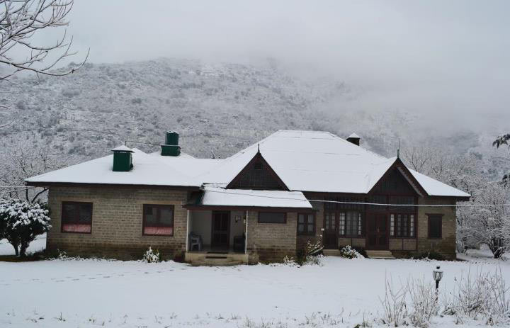 The homestay in winter