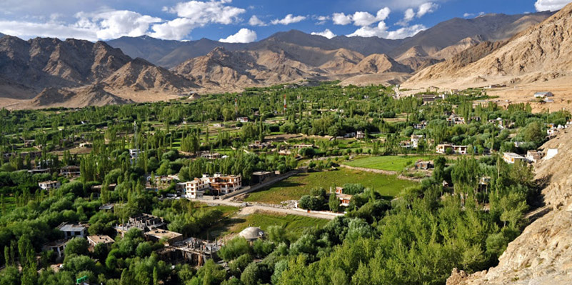 Relax and absorb the beauty of Leh at an unbelievable location