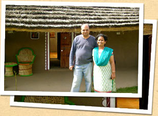 Arvind Modi, owner of Nirvana Organic Farm
