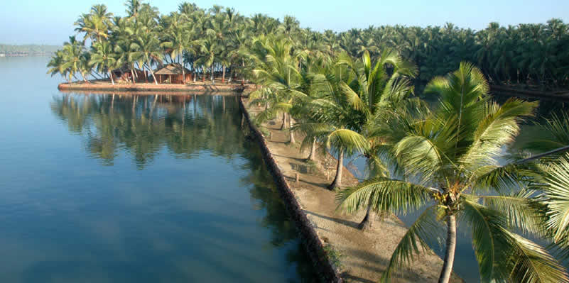 Rejuvenate yourself on a private island along North Kerala's picturesque backwaters