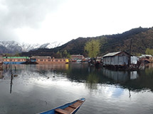 Life on a Houseboat, Srinagar.