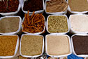 Spices for sale at Mapusa Friday Market