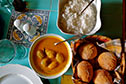 Seasonal Goan curries served with Goan breads