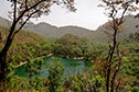 Pristine lakes of Sattal, a short forest hike away