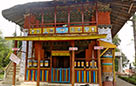 A traditional monastery in West Sikkim